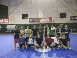 Foto bersama tim Asrama Bali